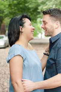 couple in Alexandria Virginia lifesyle photography wedding engagement