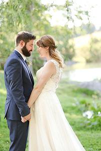 bride and groom virginia wedding engagement photography big spring farm wedding