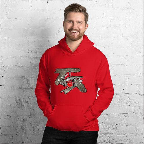 V-Day unisex hoodie