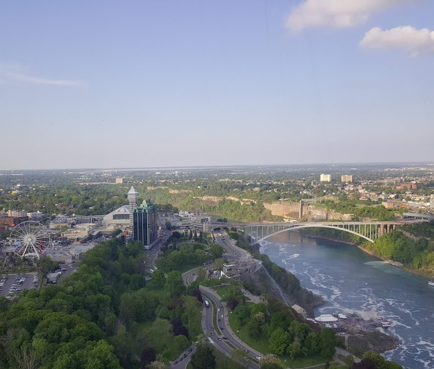 View from Skylon Tower!