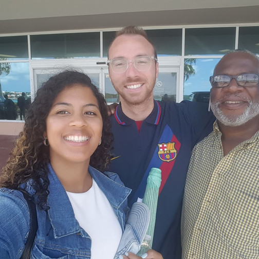 Our taxi driver William in Bermuda!