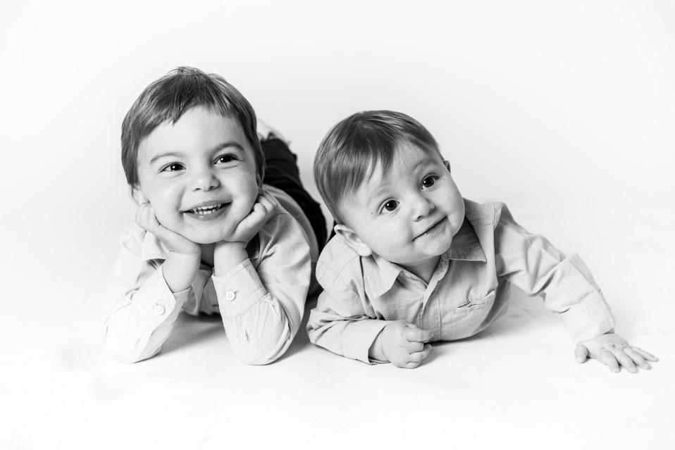 Séance photo studio famille enfants