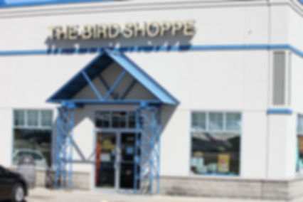 Front Store image of The Bird Shoppe