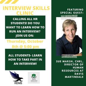 Interview Skills Clinic