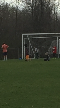 soccer headstand