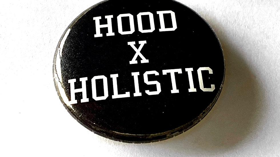Hood X Holistic Pin