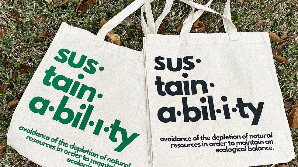 Sustainability Totes