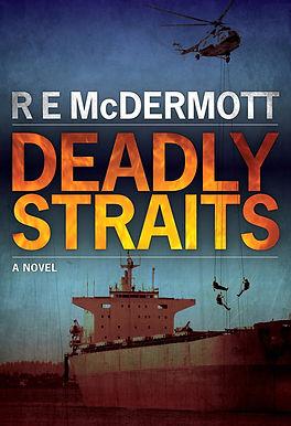 0376 Bob McDermott ecover Deadly Straits