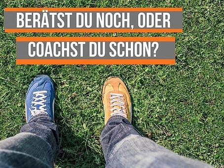 Coaching und Beratung im Vergleich