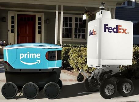 Autonominiai pristatymo robotai