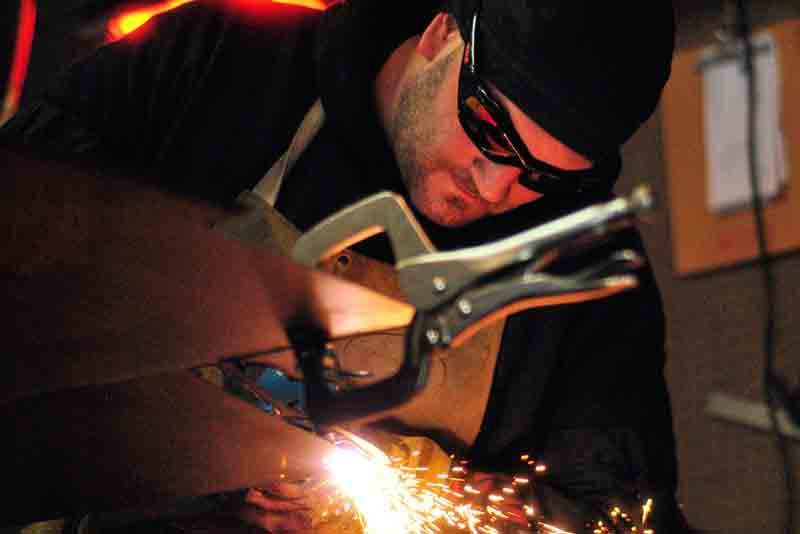 contact for welding and fabrication