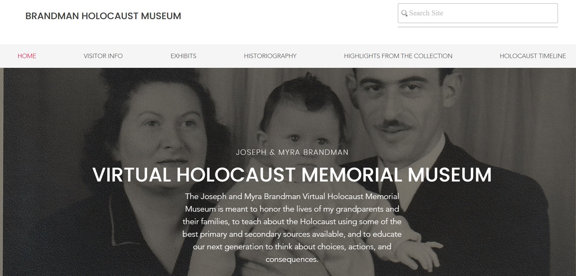 Brandman Virtual Holocaust Museum