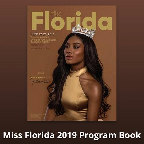 Miss Florida 2019 Program Book