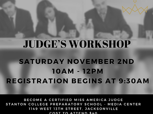 Judge's Workshop Jacksonville