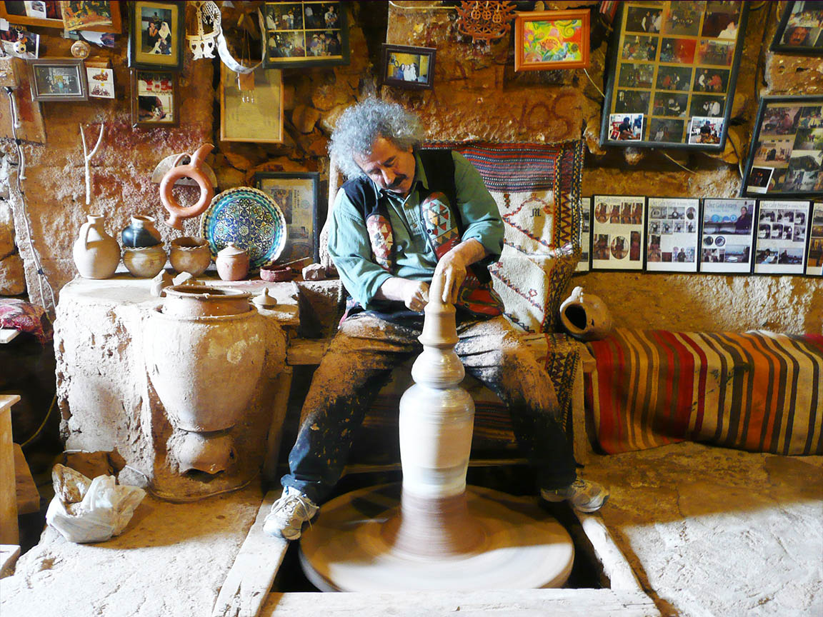 Pottery Master Chez Galip in Avanos
