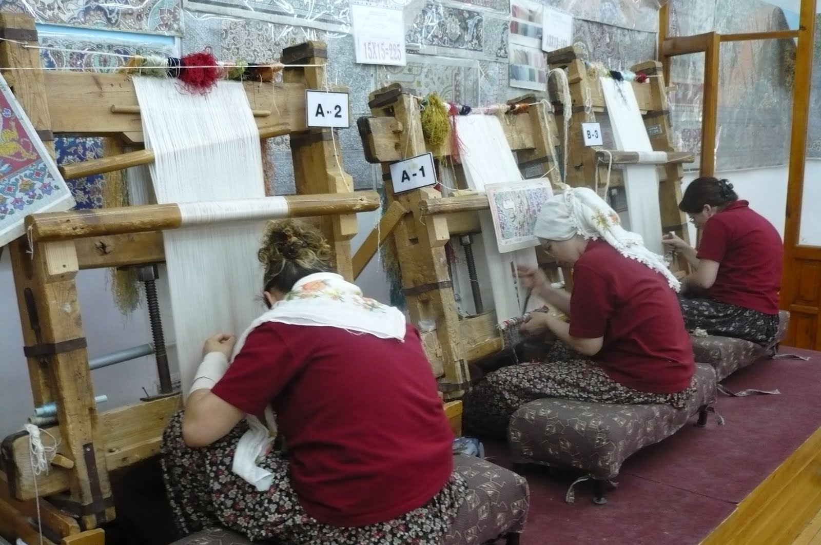 Cappadocia Vacational Weaving School