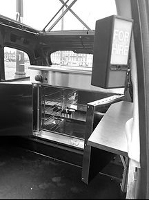 Converted catering taxi