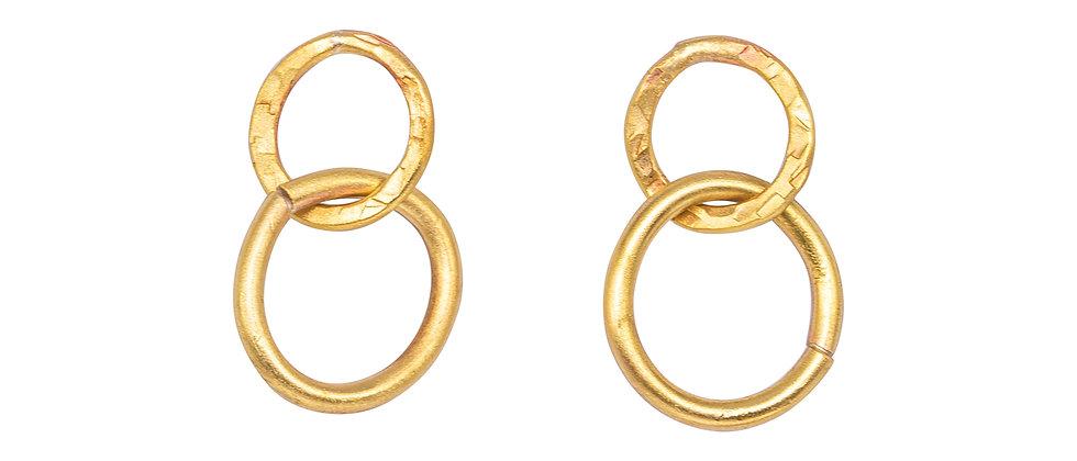 Unity Interlocking Drop Earrings