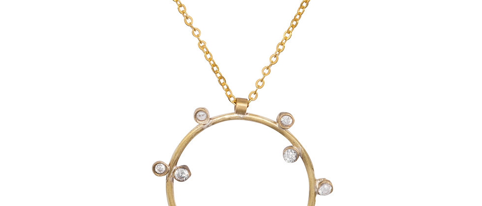 Canopus Diamond Necklace