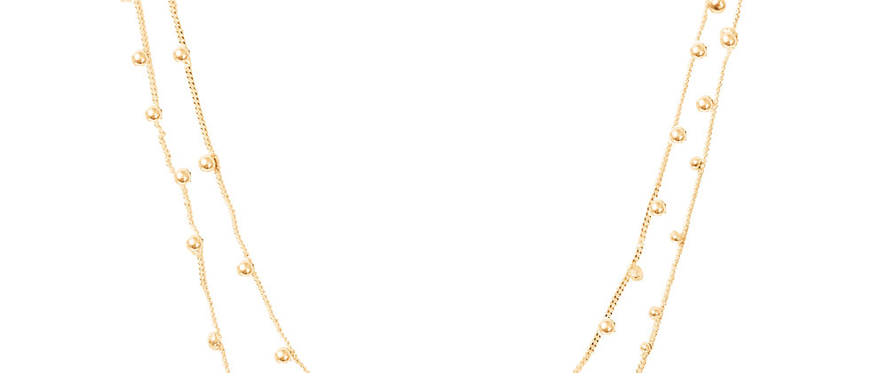 Shooting Stars Double Necklace