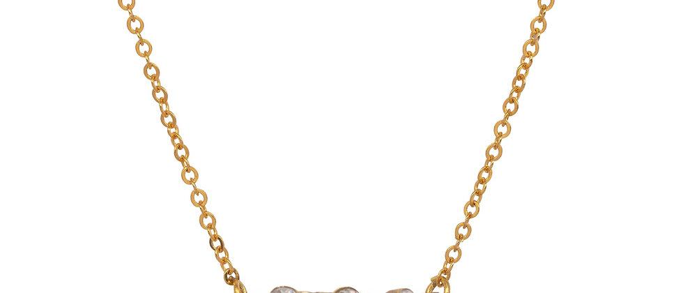 Altair 3 Diamond Bar necklace