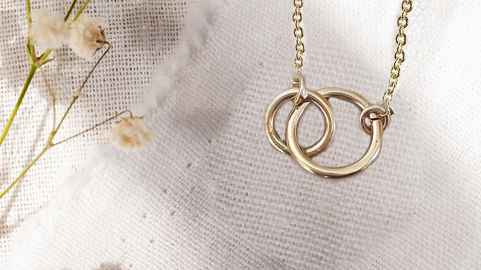 Serendipity Gold Necklace
