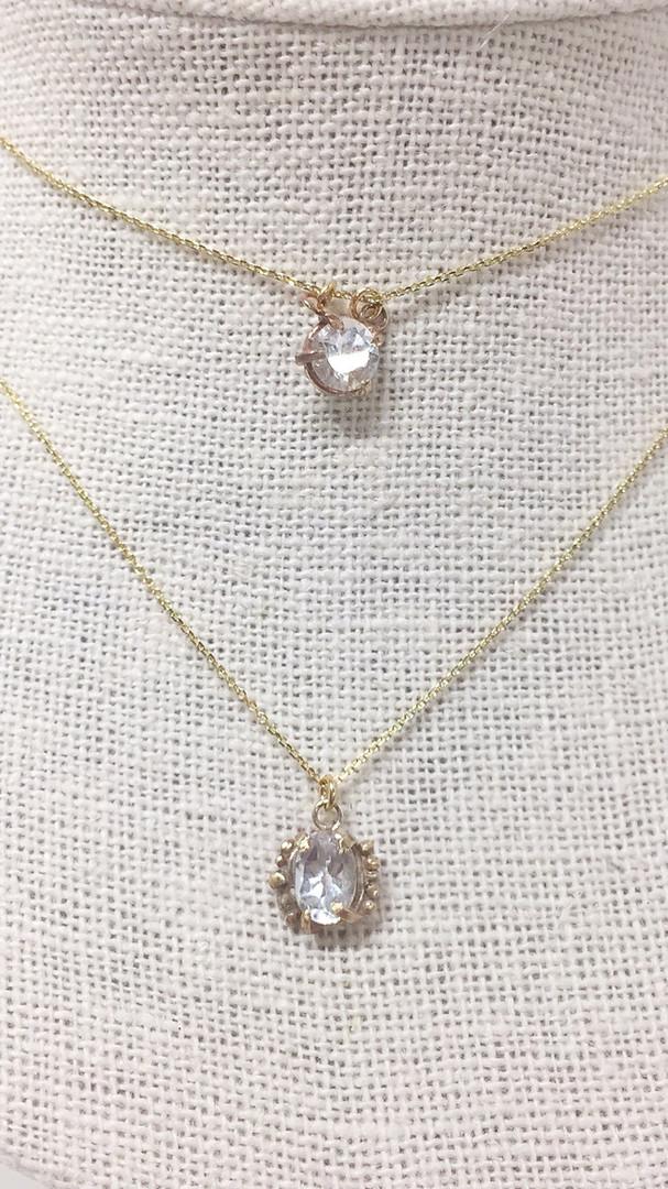 Gemstone diamond drop necklaces.jpg