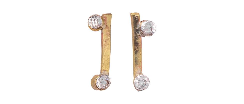 Arctarus Diamond Stud Earrings
