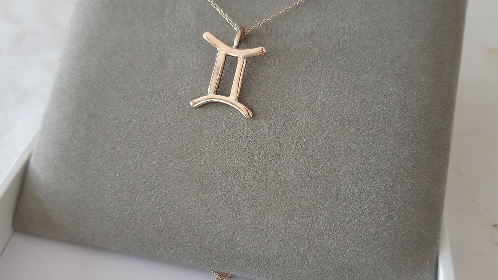Zodiac Sign Gold Necklace