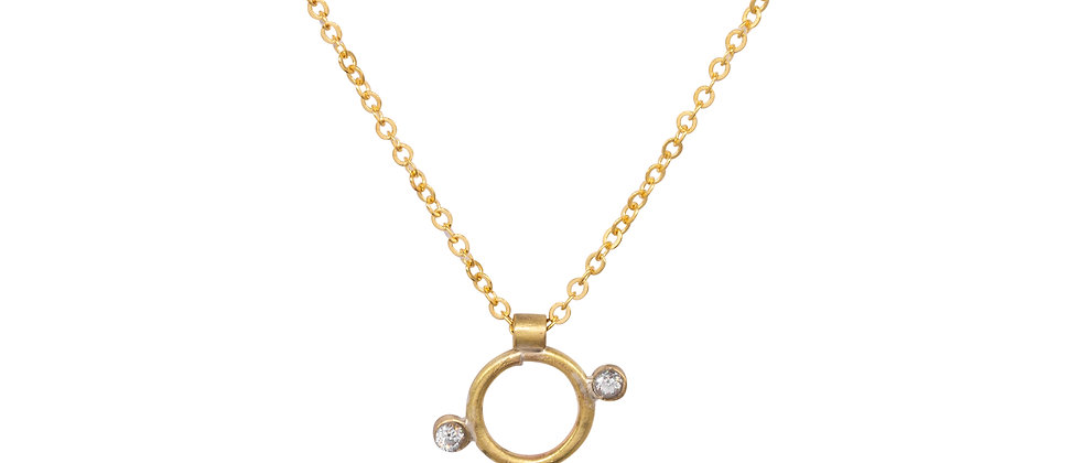Rhea Diamond Necklace