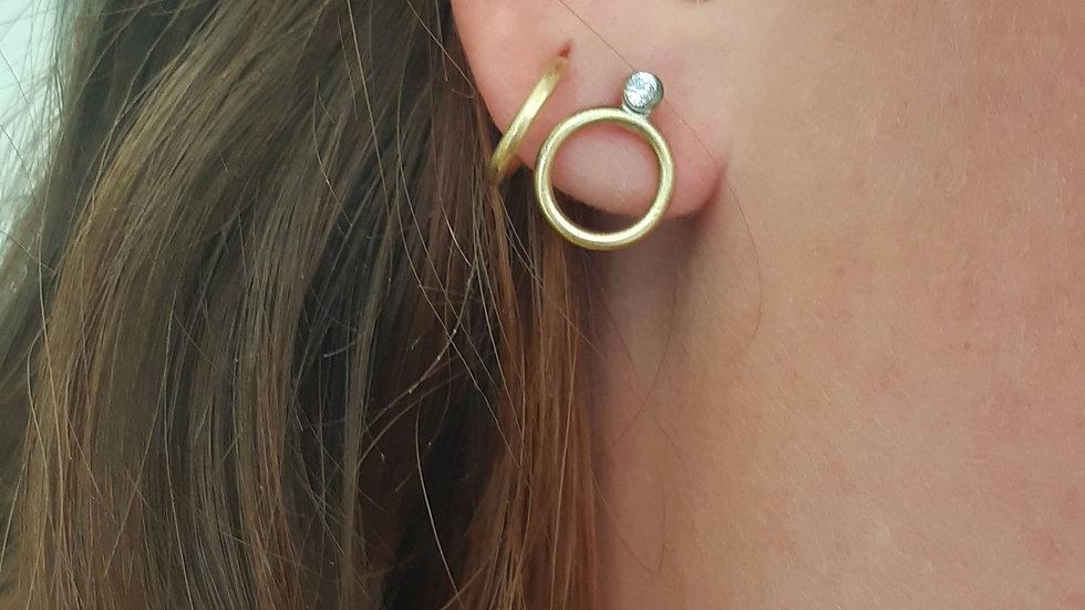 Rigel Diamond Stud Earrings