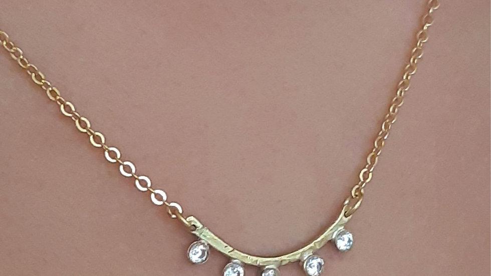 Vega Diamond Necklace