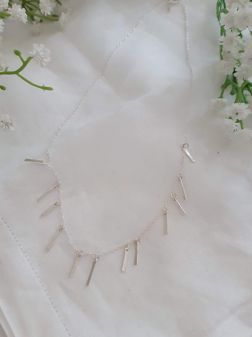 Star Crossed Lovers Dangle Necklace
