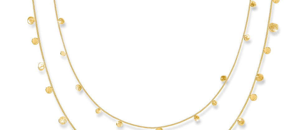 Scattered Stars Double Necklace
