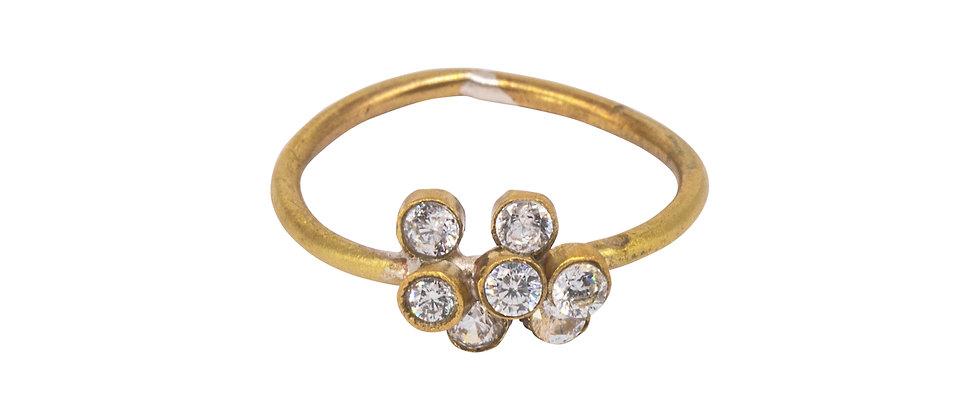 Adhara Cluster Ring