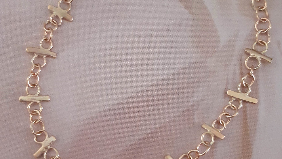 Star Crossed Lovers Chain Bracelet