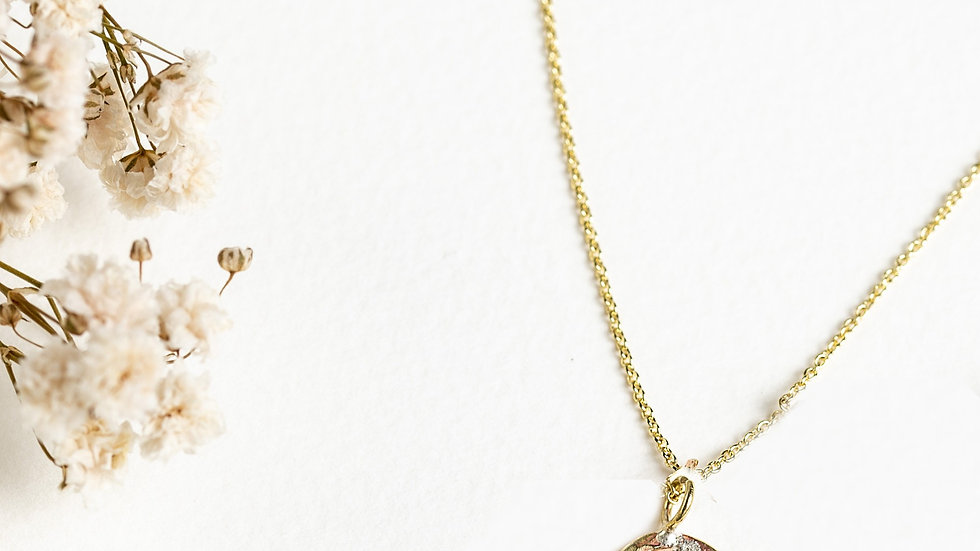 Classic Gold Karma Necklace (loose on the necklace)