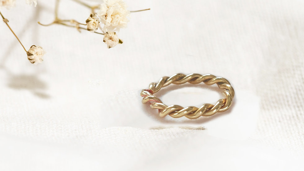 Entwined Eternity Ring