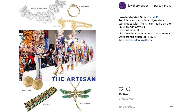 Lily Flo Jewellery featured in The Artis