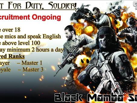 CODM Recruitment