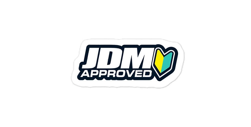 JDM Approved Sticker