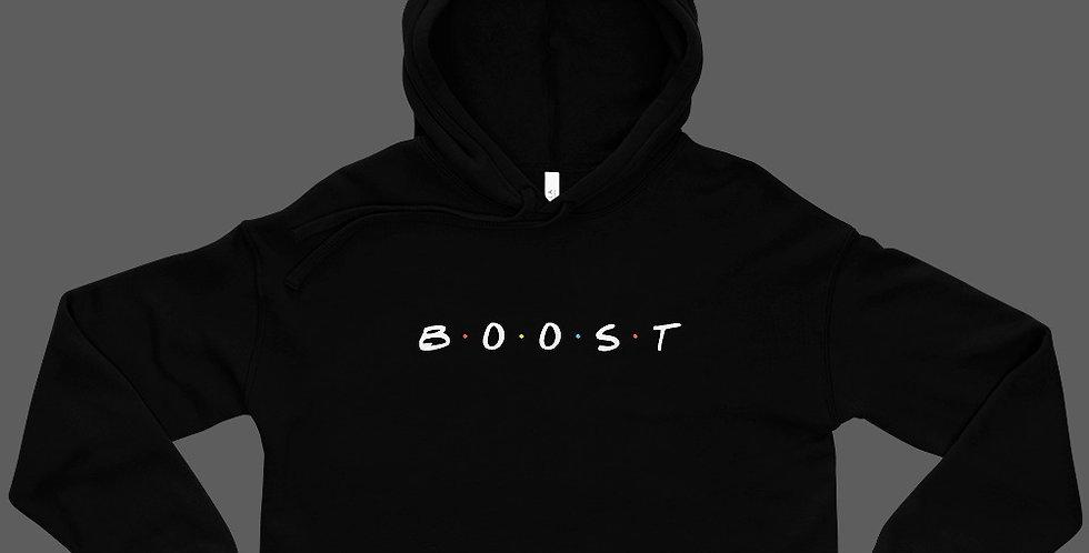 BOOST Crop Hoodie