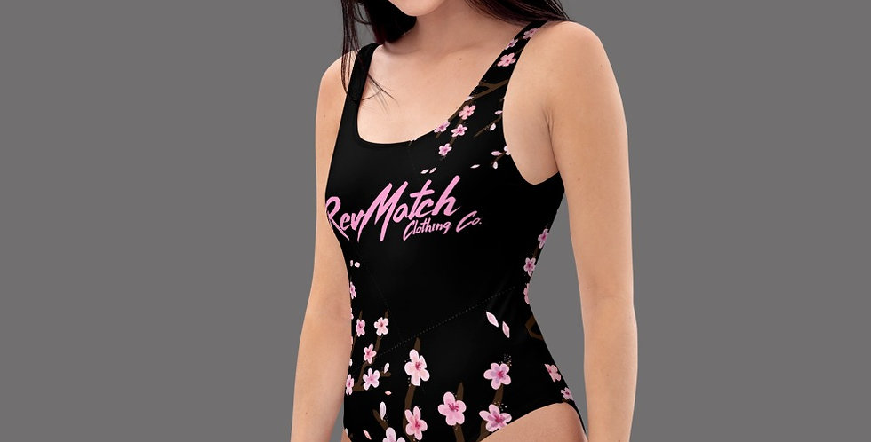 Cherry Blossom One-Piece Swimsuit