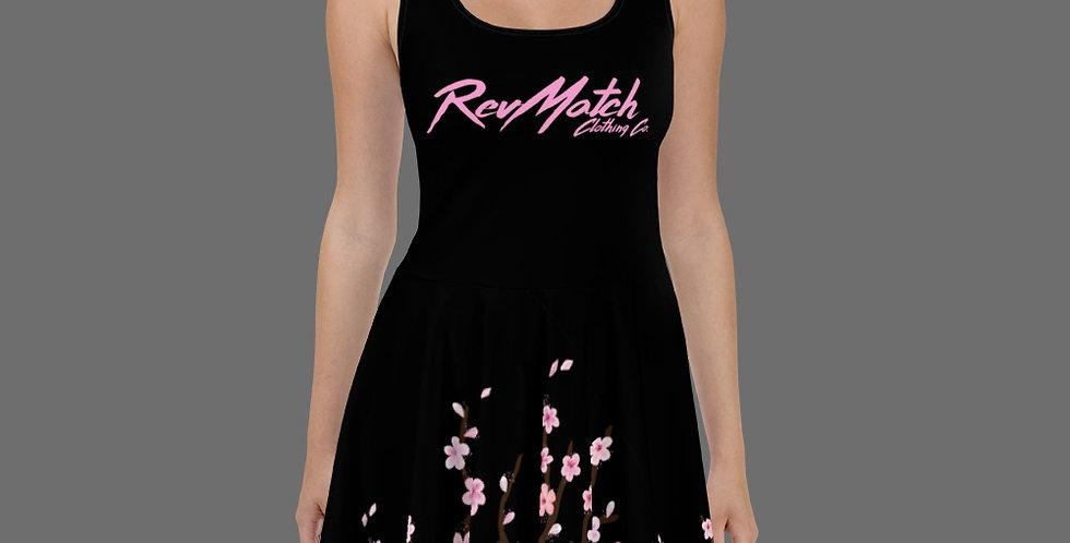 Cherry Blossom Skater Dress