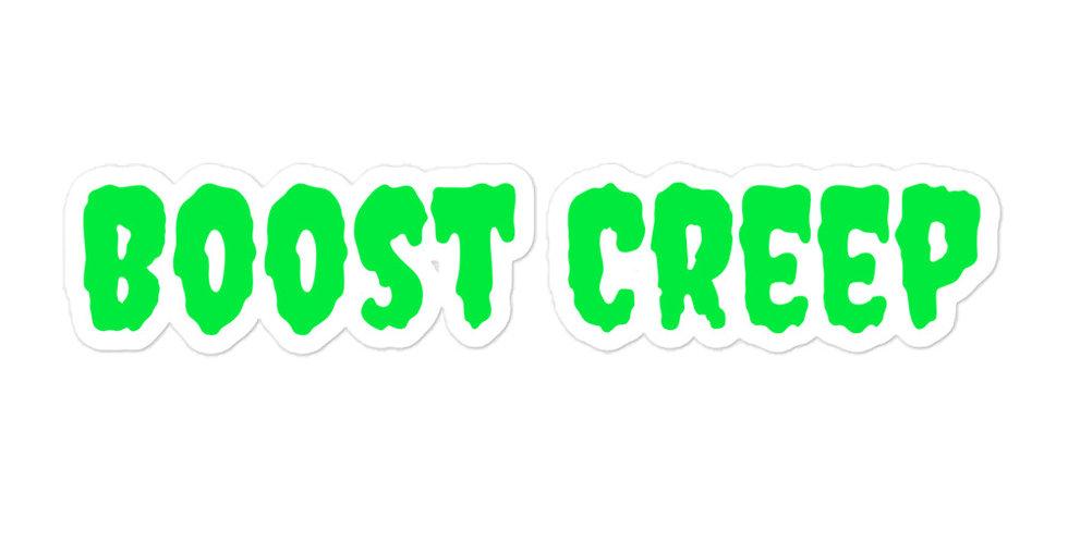 Boost Creep Sticker