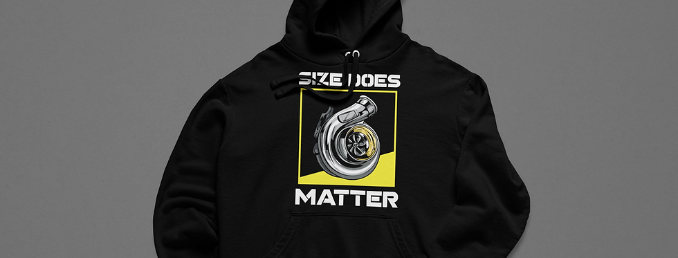 Size Does Matter Hoodie