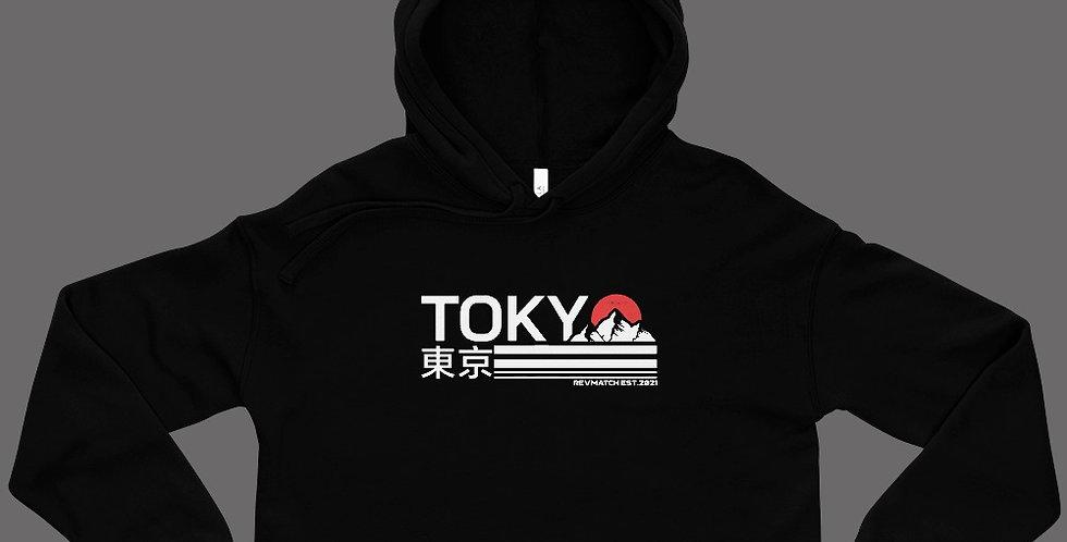 Tokyo Crop Hoodie