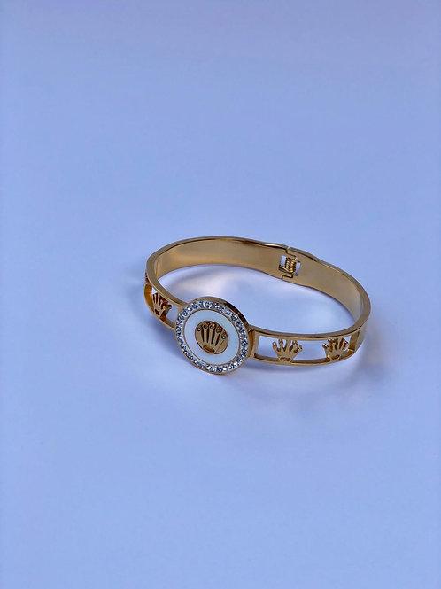 Gold renk çelik bileklik