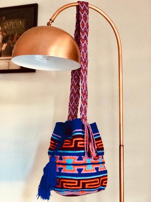 Renkli wayuu çanta
