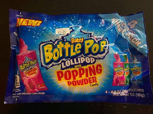 Baby Bottle Pop Lollipop & Popping Powder